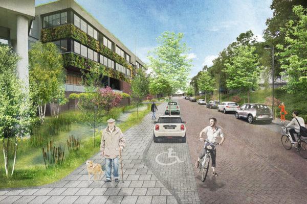 Waterschap limburg vergroenen verduurzamen bureau FRANKEN projectmanagement