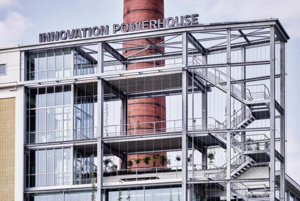Gebouw TR Innovation Powerhouse bureau FRANKEN